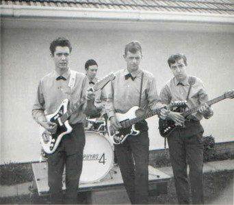 "1 of 6  band nameThe Zephyrs   submitted by John Haram  who's in the picture From Left to right: Robin Bownes, rhythm guitar; Gerry Sayer, drums;  Tony Purdy, lead guitar; John Haram, bass;  where was the band based Cape Town, South Africa  years active 1964-1999  musical influences The Shadows, Cliff Richard, Elvis Presley, James Last, Tom Jones, Beatles, Searchers, Beach Boys, Kinks, Tremeloes etc.  notesThe Zephyrs first came together in Cape Town, South Africa in October 1964 under the management of Mr. Eric Bownes, who had been a drummer in the early post–war years in Cape Town.    In 64/65 most of the local bands were very much into the Beatles/Rolling Stones era, so we decided to aim for the function""market (Sports Clubs, Weddings etc.) - cos we thought there was more money in that!! In 1965 we entered the Cape Town ""Battle of the Bands"" and decided to do just instrumentals like Girl from Ipanema, The Savage, Caravan""etc, - We came stone last!!  Over the years, with personnel changes at various times, the group included amongst others: John Dentener, keyboards/vocals; Trevor Keet, 2nd rhythm guitar/vocals; Rheinhardt Zundorff, keyboards/vocals; Glynn Crawcour, drums/vocals; Bob Mowday, brass  (sax, clarinet); Celia Halkett, keyboards; Graham Deeks, guitar/vocals; Ziggy""Zweig, drums.   brushes with fame Jamming with Gene Rockwell's band at an after-concert party.  Taking over from The Shekels at the Ace of Clubs (for a long-term contract) - They were a professional group who managed to release their version of a Beatles number in South Africa before the Beatles' version was released there.  Breaking the record for Non-Stop Playing""in 1967, over 12 hours. This was entered in Eric Rosenthal's ""Book of South African Records"" and the gig ended with Ronnie Singer, Cape Town's top keyboard player/Jazz/Rock/Blues exponent at that time, joining us on stage for the last couple of numbers.  where are they now  For the last couple of years before our final gig in October 1999, 35 years after we started, the original 4 members were still working together, augmented by 2 others...  Final Line-up: Tony Purdy, lead guitar (died 2003); Robin Bownes, rhythm guitar/vocals (still plays occasionally in Cape Town); Gerry Sayer, drums/vocals (still plays occasionally in Cape Town!); John Haram, bass (still playing, but in Glasgow, Scotland).  With Lynne Rattle, 2nd rhythm guitar/vocals (still in Cape Town) ; Peter Allcock, keyboards/vocals (no details available)."