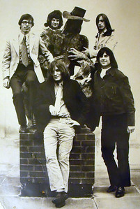 3 of 3  band nameUNKNOWN. Back In The 60s I was the Bass player in a band With CARL DOUGLAS (Kung Fu Fighting). When the band ended I started rehearsals with this band. I can't remember the name of the band or any of the members.    who's in the picture Tony Charman (top right).  If you can identify the band or any of the members please   email us and we will pass your message onto Tony.