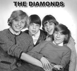 1 of 3  band name The Diamonds                          (Sweden)  submitted by Roland Billner. I started the band in 1962 when I was 12 years old.    who's in the picture Roland Billner, lead guitar, vocals; Benny Bjork rhythm guitar, vocals; Sven-Olov Lindberg bass, vocals; Hans Jaderkvist, drums.   where was the band based Stockholm, Sweden  years active Early 1960's  musical influences  Shadows, Beatles etc.   notes There are 2 recordings from the band made at EMI studios Stockholm, in 1964 - 'Do It Baby'  and  'What Did I Say'. We were 14 years old.  brushes with fame ...    where are they now  I play in a 1960's band called The Blue Diamonds. See http://thebluediamonds.orjan.info for more information.