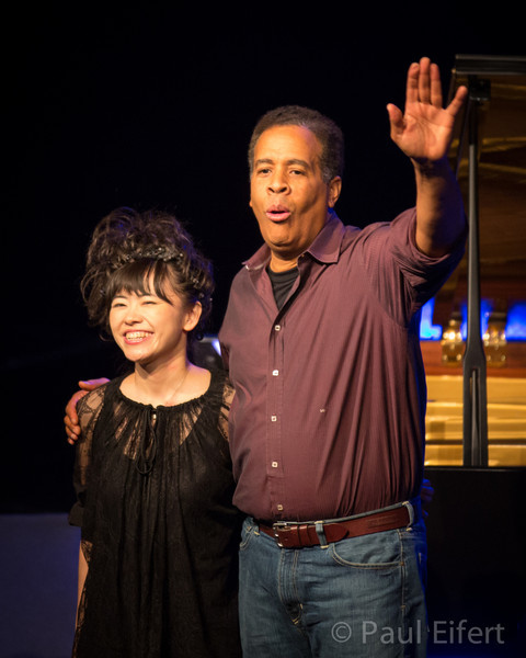 Stanley Clarke and Hiromi play at the Montreal International Jazz Festival