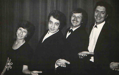 5 of 6  band nameThe Zephyrs   who's in the picture  Left to right: Celia Halkett, hammond organ; John Haram, bass; Glynn Crawcour, drums/vocals; Robin Bownes, rhythm guitar/vocals.  1976
