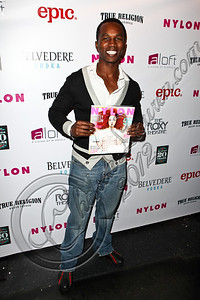 WEST HOLLYWOOD, CA - MAY 30:  Actor Jacques Dorosena arrives at the NYLON Magazine June/July music issue launch party at The Roxy Theatre on May 30, 2012 in West Hollywood, California.  (Photo by Chelsea Lauren/FilmMagic)