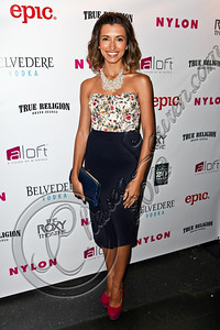 WEST HOLLYWOOD, CA - MAY 30:  Actress India de Beaufort arrives at the NYLON Magazine June/July music issue launch party at The Roxy Theatre on May 30, 2012 in West Hollywood, California.  (Photo by Chelsea Lauren/FilmMagic)