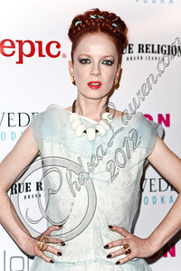 WEST HOLLYWOOD, CA - MAY 30:  Vocalist Shirley Manson of Garbage arrives at the NYLON Magazine June/July music issue launch party at The Roxy Theatre on May 30, 2012 in West Hollywood, California.  (Photo by Chelsea Lauren/FilmMagic)
