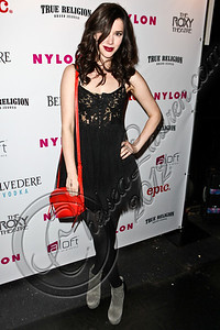 WEST HOLLYWOOD, CA - MAY 30:  Actress Erica Dasher arrives at the NYLON Magazine June/July music issue launch party at The Roxy Theatre on May 30, 2012 in West Hollywood, California.  (Photo by Chelsea Lauren/FilmMagic)