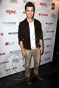 WEST HOLLYWOOD, CA - MAY 30:  Actor Spencer Boldman arrives at the NYLON Magazine June/July music issue launch party at The Roxy Theatre on May 30, 2012 in West Hollywood, California.  (Photo by Chelsea Lauren/FilmMagic)