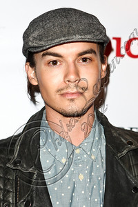 WEST HOLLYWOOD, CA - MAY 30:  Actor Tyler Blackburn arrives at the NYLON Magazine June/July music issue launch party at The Roxy Theatre on May 30, 2012 in West Hollywood, California.  (Photo by Chelsea Lauren/FilmMagic)