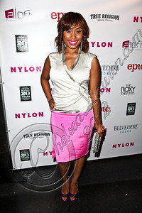 WEST HOLLYWOOD, CA - MAY 30:  Actress Angell Conwell arrives at the NYLON Magazine June/July music issue launch party at The Roxy Theatre on May 30, 2012 in West Hollywood, California.  (Photo by Chelsea Lauren/FilmMagic)