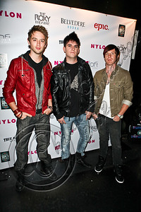 WEST HOLLYWOOD, CA - MAY 30:  Recording artists Forever The Day arrive at the NYLON Magazine June/July music issue launch party at The Roxy Theatre on May 30, 2012 in West Hollywood, California.  (Photo by Chelsea Lauren/FilmMagic)