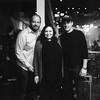 Andy Langer, Susan Antone & Will Bridges (polaroid)