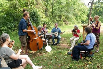 Outdoor Jam  -  French Creek Music Retreat 2012