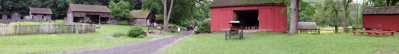 Panorama of Quiet Valley Farm - Stroudsburg, PA