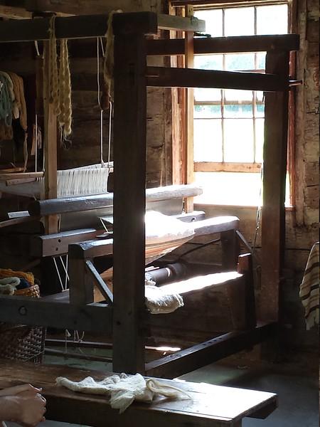 Loom at  Quiet Valley Farm