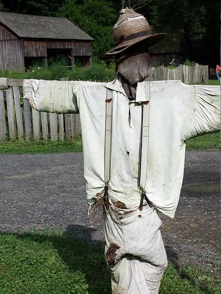 Scarecrow at Quiet Valley