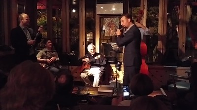 Fun (and funny) excerpt from Gene Bertoncini's weekly Thursday night gig at Ryans Daughter.