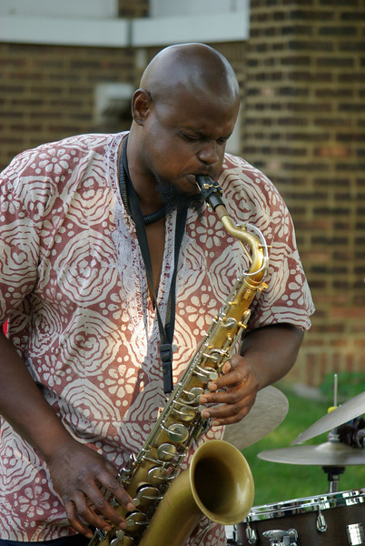 David Boykins (renowned saxophonist).
