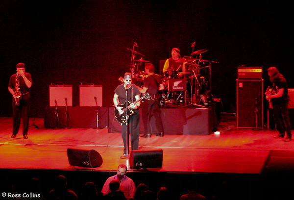 George Thorogood & the Destroyers, Wellington Town Hall, 2 March 2005