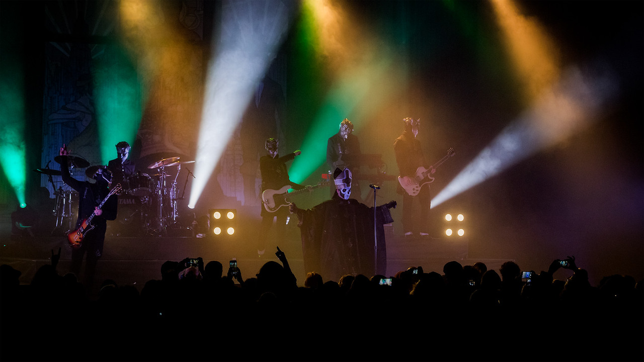 May 19, 2016 Ghost at the Egytian Room at Old National Centre