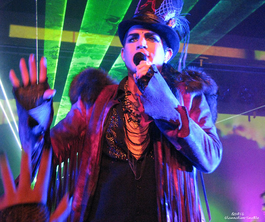 Adam Lambert-Glamnation 2010-Seattle