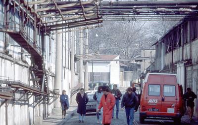 Marché aux vins de la ville de Paris - 1987 tournage interview Gogol 1er