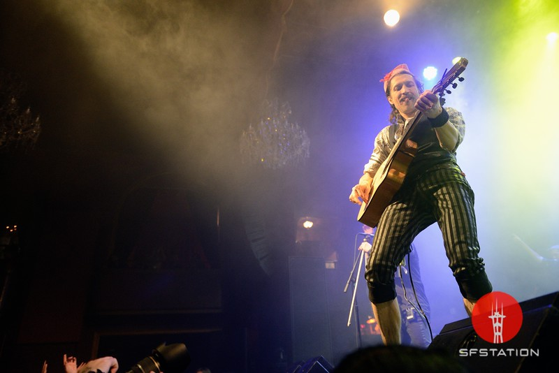 Gogol Bordello and Lucky Chops, Feb 28, 2018 at The Fillmore