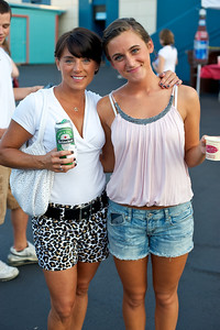 Lisa and Eden Gosney of Union, KY at PNC Pavilion for the Goo Goo Dolls