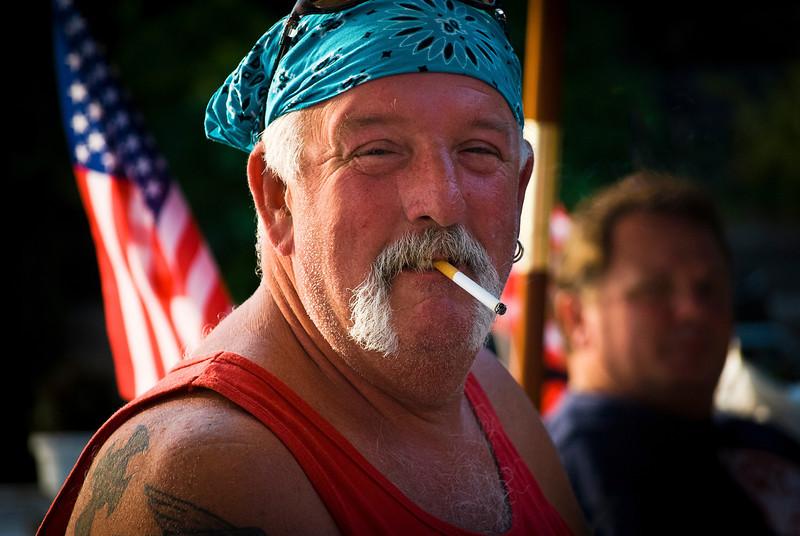 Sarge Patriotic Pic
