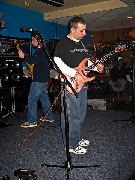 Stephan and Gino Marchello live in Piscataway in 2005. RIP Peppi 1945-2013 We will miss you, Rat On!