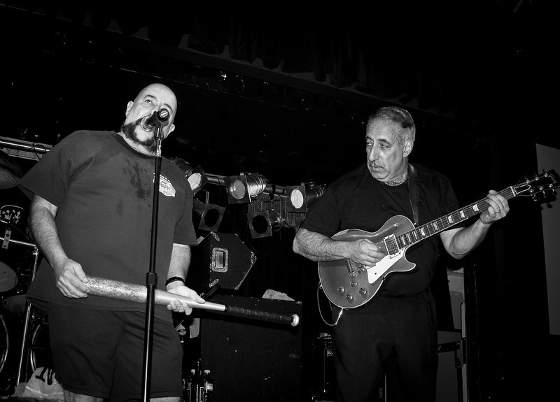 Peppi and Mickey Marcello at the Original Good Rats reunion in 2008 at BB Kings. RIP Peppi 1945-2013 We will miss you, Rat On!