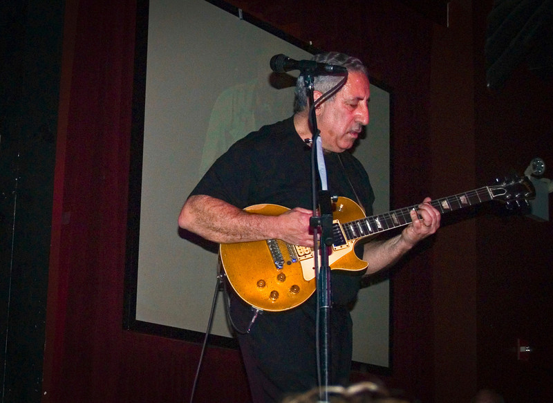 MIckey Marcello at the 2008 original Good Rats reunion at BB Kings. RIP Peppi 1945-2013 We will miss you, Rat On!