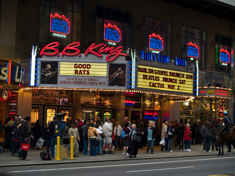 The BB Kings Marque for the original Good Rats reunion in 2008. RIP Peppi 1945-2013 We will miss you, Rat On!