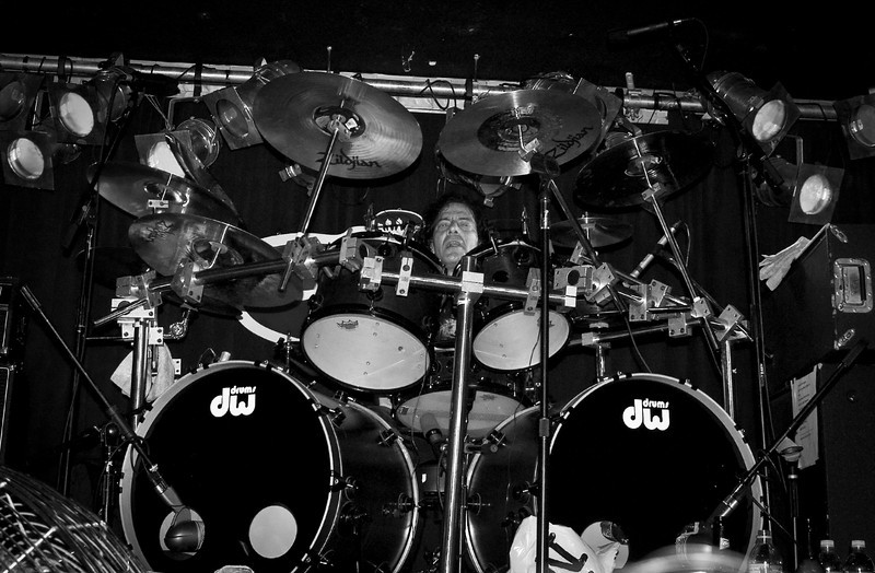 Joe Franco on drums for the 2008 original Good Rats reunion at BB Kings. RIP Peppi 1945-2013 We will miss you, Rat On!