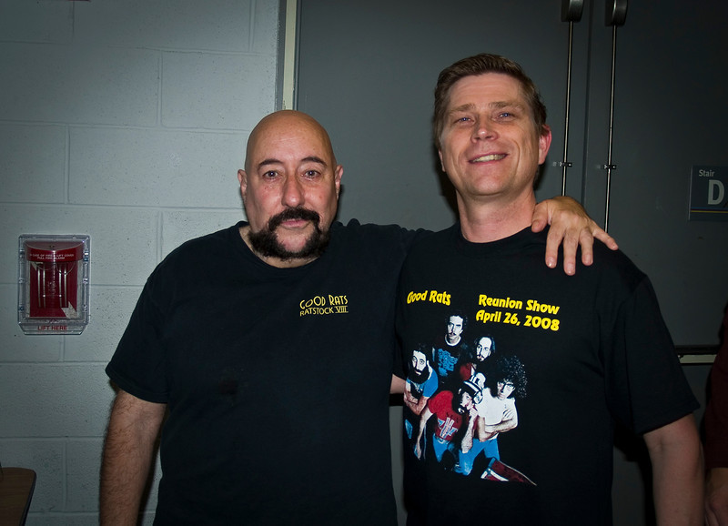 Peppi and me at the BB Kings reunion in 2008. RIP Peppi 1945-2013 We will miss you, Rat On!