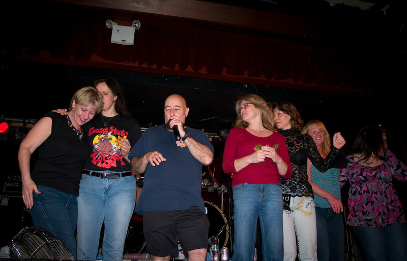 """Yellow Flower"" at the BB Kings original Good Rats reunion show in 2008. RIP Peppi 1945-2013 We will miss you, Rat On!"