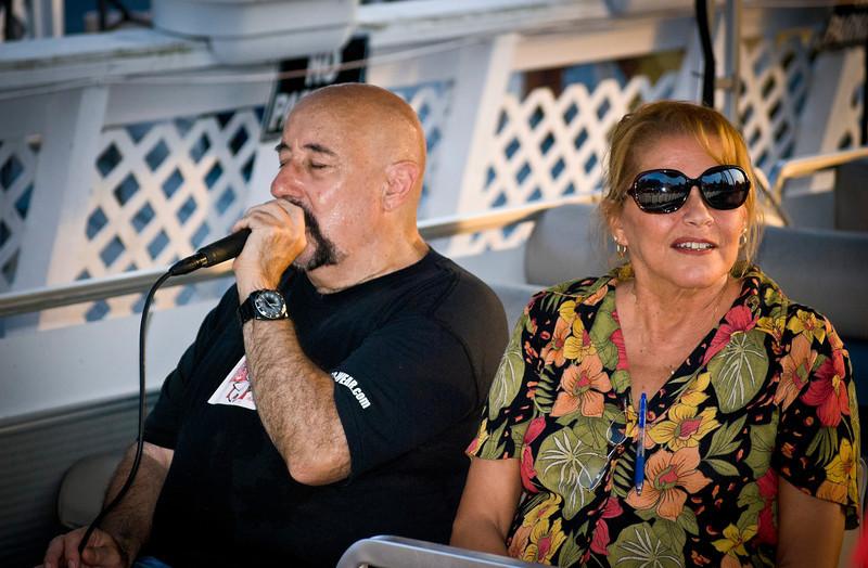 Peppi Sings On Boat