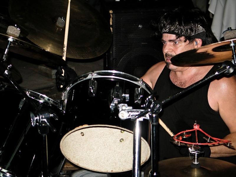 Good Rats Drummer Wall St. 2006