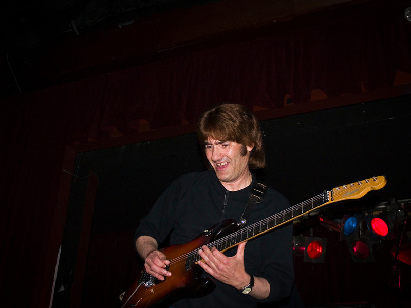 "John ""the Cat"" Gatto at the 2008 original Good Rats reunion at BB Kings. RIP Peppi 1945-2013 We will miss you, Rat On!"