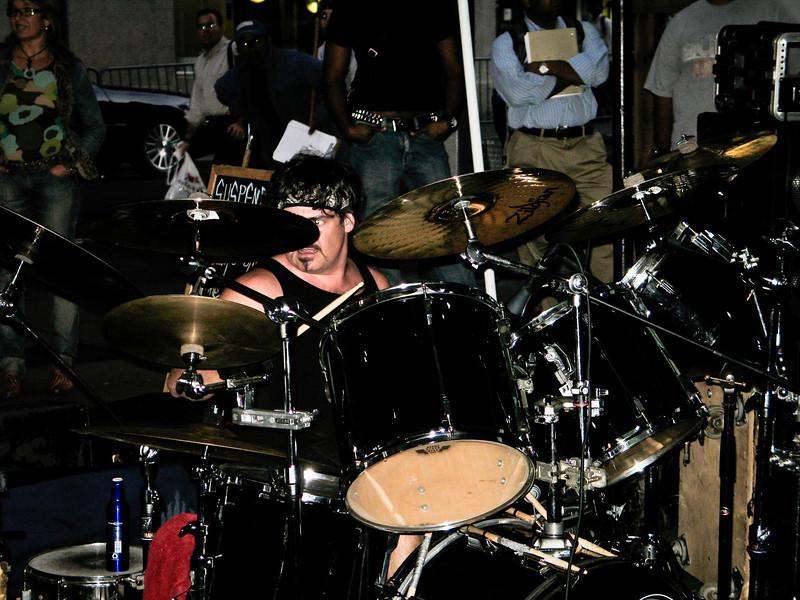 Good Rats Drum Kit Wall St.B