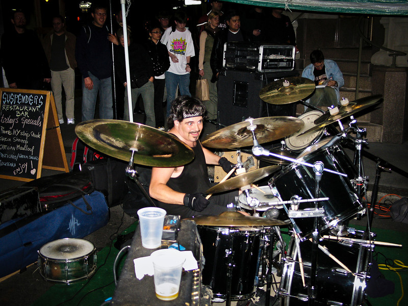 Good Rats Drummer Wall St. 2006