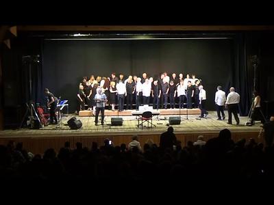 20- חזרת מקהלות לבמה והצגת השיר סניורה דלה צ'ימה