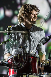 LOS ANGELES, CA - SEPTEMBER 04:  Musician Gotye performs at The Greek Theatre on September 4, 2012 in Los Angeles, California.  (Photo by Chelsea Lauren/WireImage)