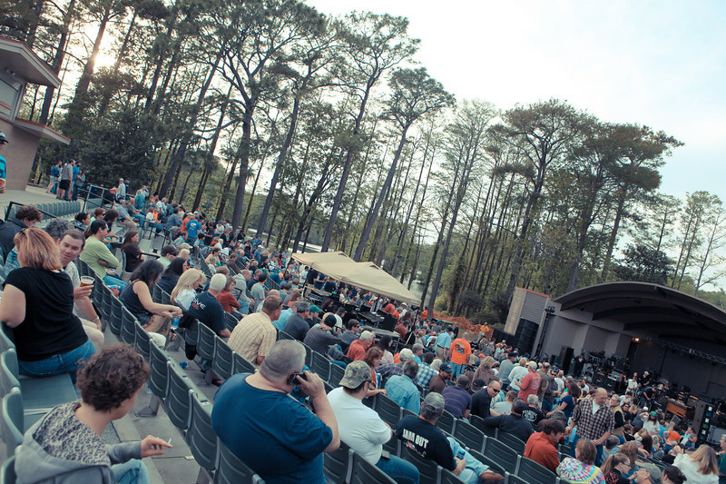 Bryce Lafoon photographs a show at Greenfield Lake- Wilmington, NC.