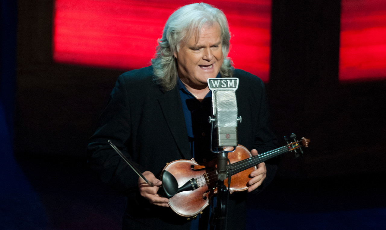 Ricky Skaggs at the Grand Ole Opry 87th Birthday Party in Nashville,Tennessee.