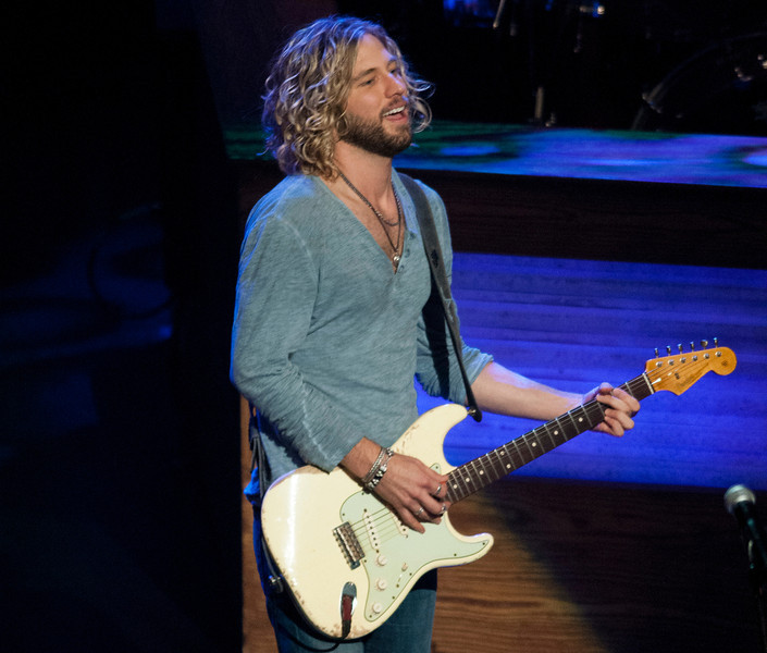 Casey James at the Grand Ole Opry 87th Birthday Party in Nashville,Tennessee.
