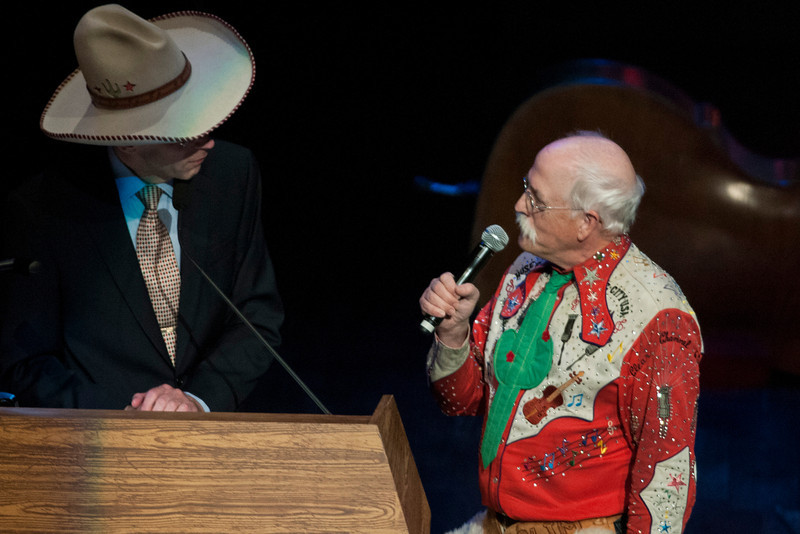 Riders in The Sky at the Grand Ole Opry 87th Birthday Party in Nashville,Tennessee.