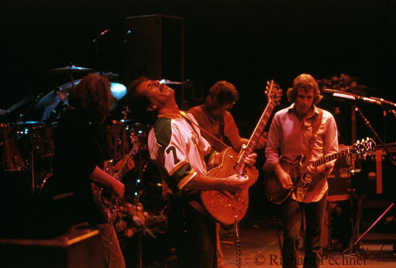 Carlos Santana jamming with Grateful Dead