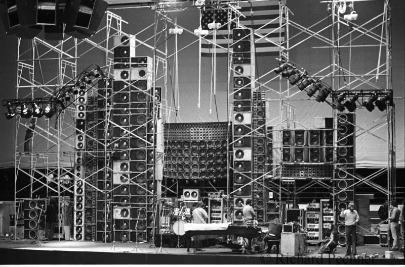 Wall of Sound, Portland Memorial Coliseum  5.19.74