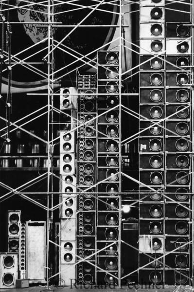 Garcia, Weir & Lesh stage stacks, Winterland, 2/23/1974