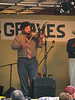 Owen Saunders, the fiddle player for David Davis & the Warrior River Boys.  He was our neighbor last year at FloydFest!
