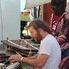 Drums n the vendor area
